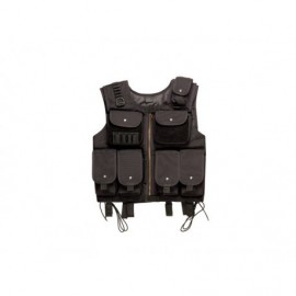tactical vest infantry zwart
