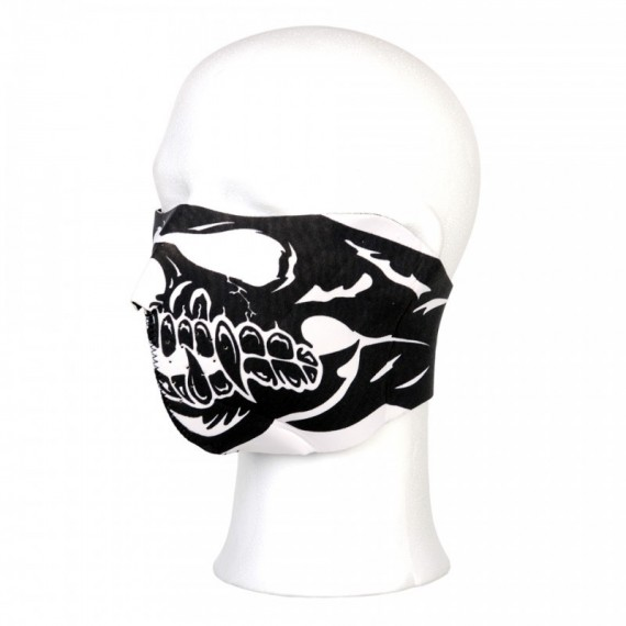BIKER MASK HALF FACE SKULL BIG MOUTH  110