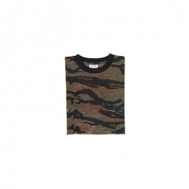 T shirt camouflage Tiger streep