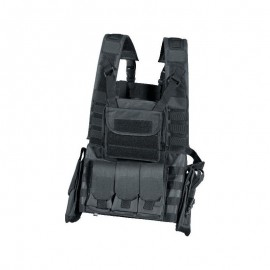 vest elite force mission chest rig zwart
