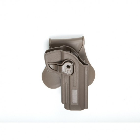 Holster polymeer M92 serie FDE retention active