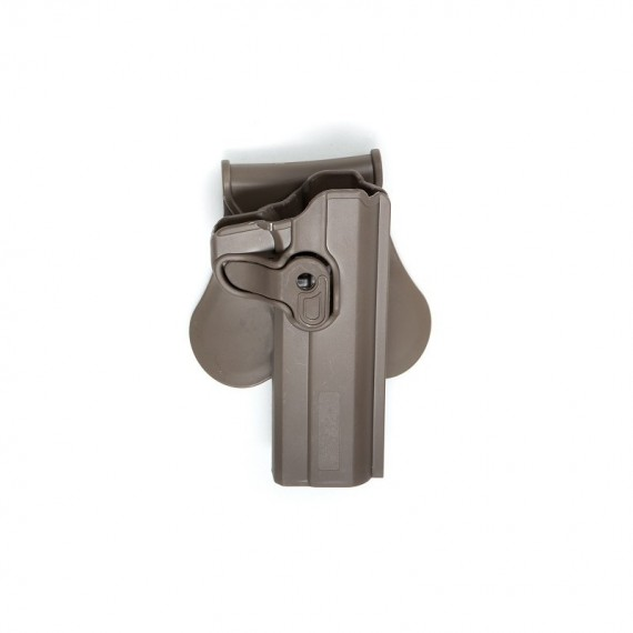 Holster polymeer 1911 serie FDE retention active