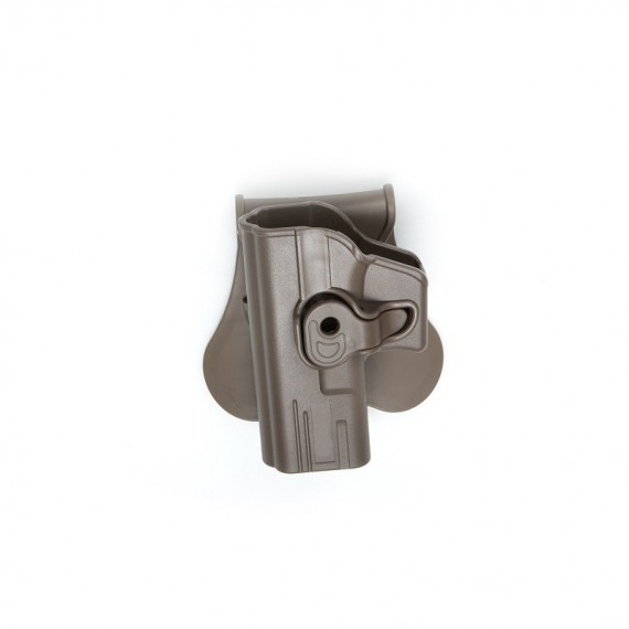 Holster polymeer G serie FDE retention active