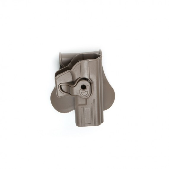 Holster polymeer G serie FDE retention active TAN