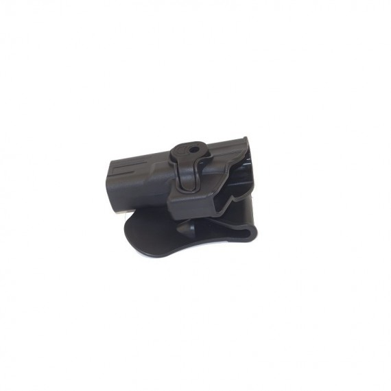 Holster polymeer G serie pour gaucher retention active
