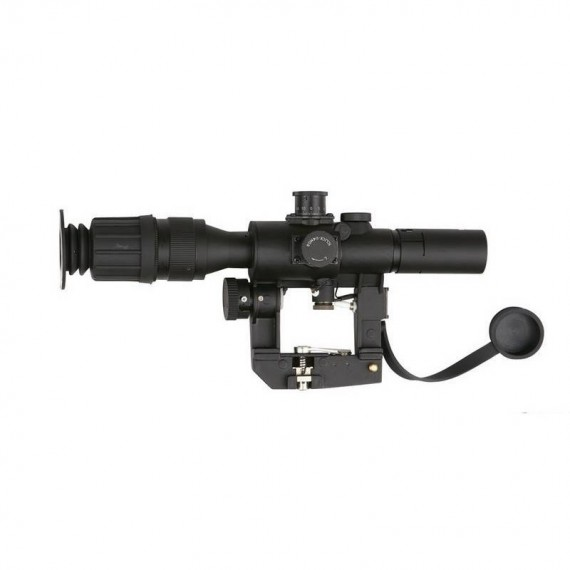 Scope Zwart 4 x 40