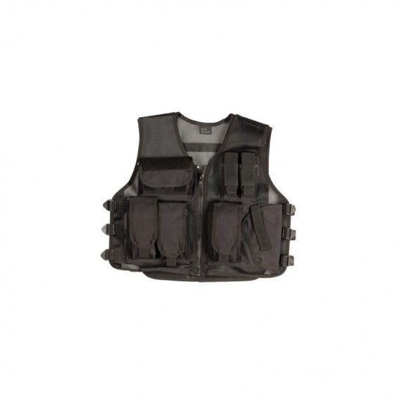 tactical vest zwart recon