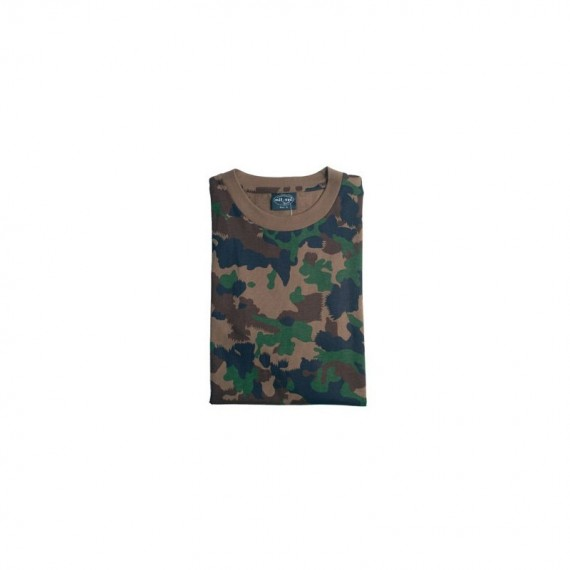 T shirt camouflage Zwitsers