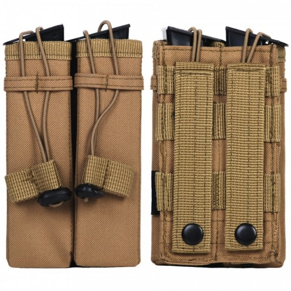 MOLLE POUCH SIDE ARM 2 MAGAZIJNEN   C