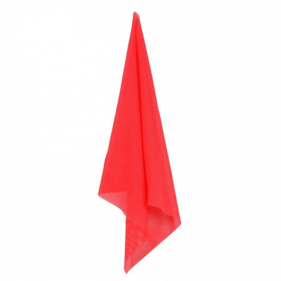 RED CLOTH HIT SIGN