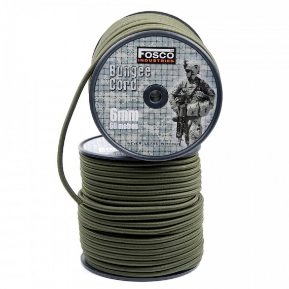 BUNGEE CORD 6 MM 60 MTR.