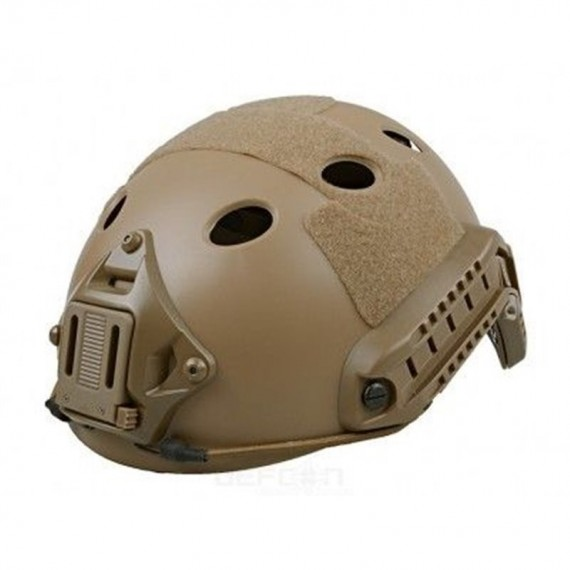 Big Foot Fast Helmet ( BJ Rhombus Hole) (Tan)
