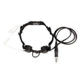 TACTICAL THROAT MIC BK Z033