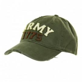BASEBALL CAP STONE WASHED ARMY 1775