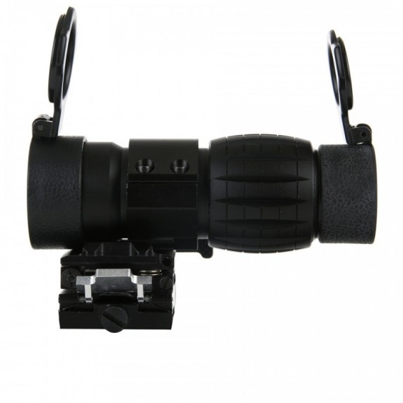 ET STYLE 4X FXD MAGNIFIER WITH ADJUSTABLE QD MOUNT AO 5338