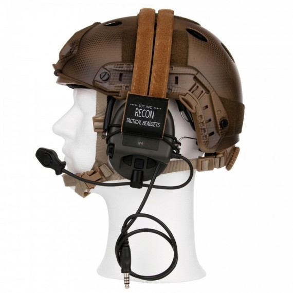 Z004 CONVERSION KIT FOR TACTICAL HELMET AND SORDIN HEADSET