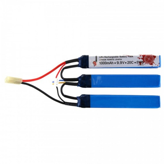 LIFE P04 RECHARGEABLE BATTERY PACK 1000MAH 9.9V