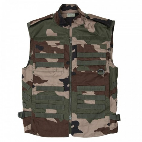 TACTICAL VEST RECON FRENCH CAMO
