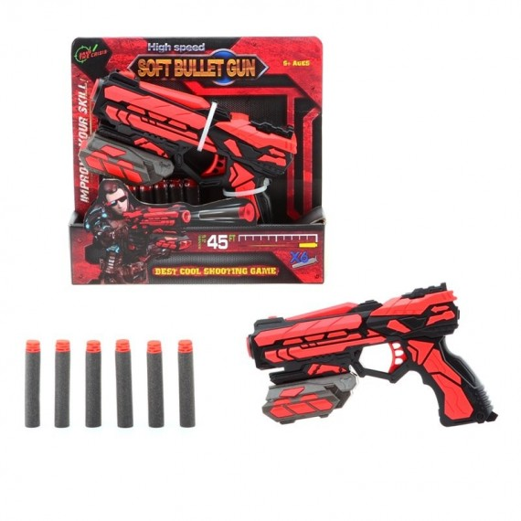 SERVE & PROTECT SHOOTER STARTER 18CM  6 PIJLEN 67