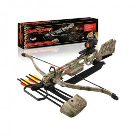 Jaguar Camo DLX MK2 - 175lb Crossbow with Red Dot Sight